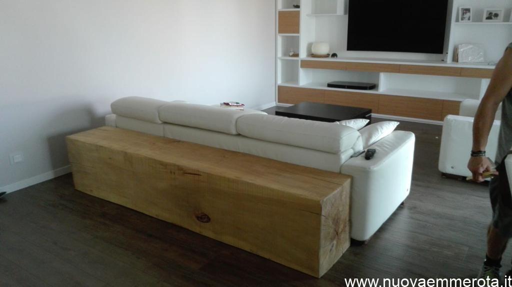 Tronco in legno massello