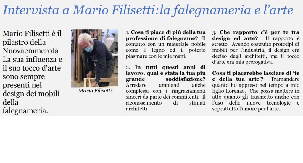Intervista a Mario Filisetti fondatore della Nuovaemmerota.