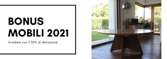 Bonus mobili 2021: arredare ora conviene