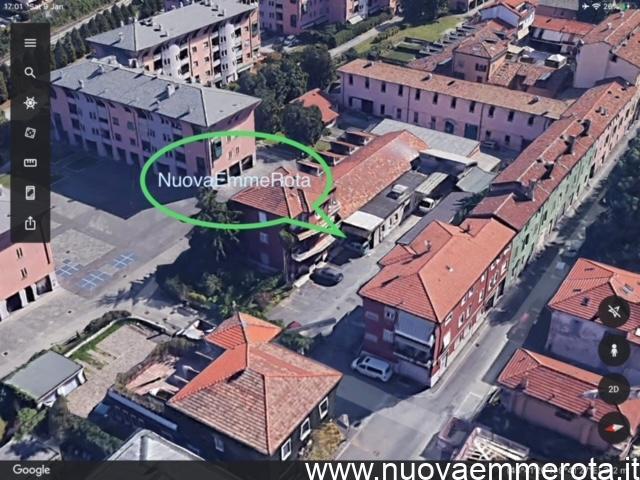 Foto dall'alto della falegnameria Nuovaemmerota.
